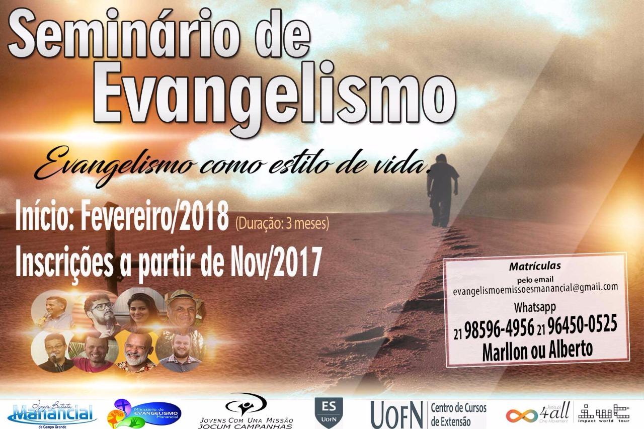 Seminário-Evangelismo-Igreja